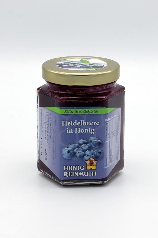 Heidelbeere in Honig, 220g