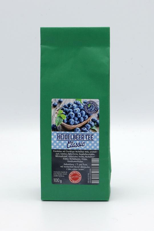 Heidelbeer-Tee Classic (aromatisiert), 100g