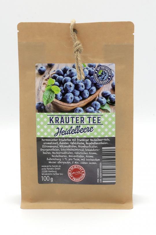 Kräuter-Früchte-Tee (aromatisiert), 100g