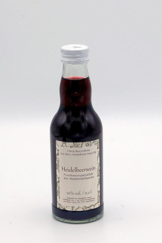 Heidelbeer-Wein, 0,2l