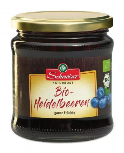 Eingelegte Heidelbeeren, 350g Füllgewicht